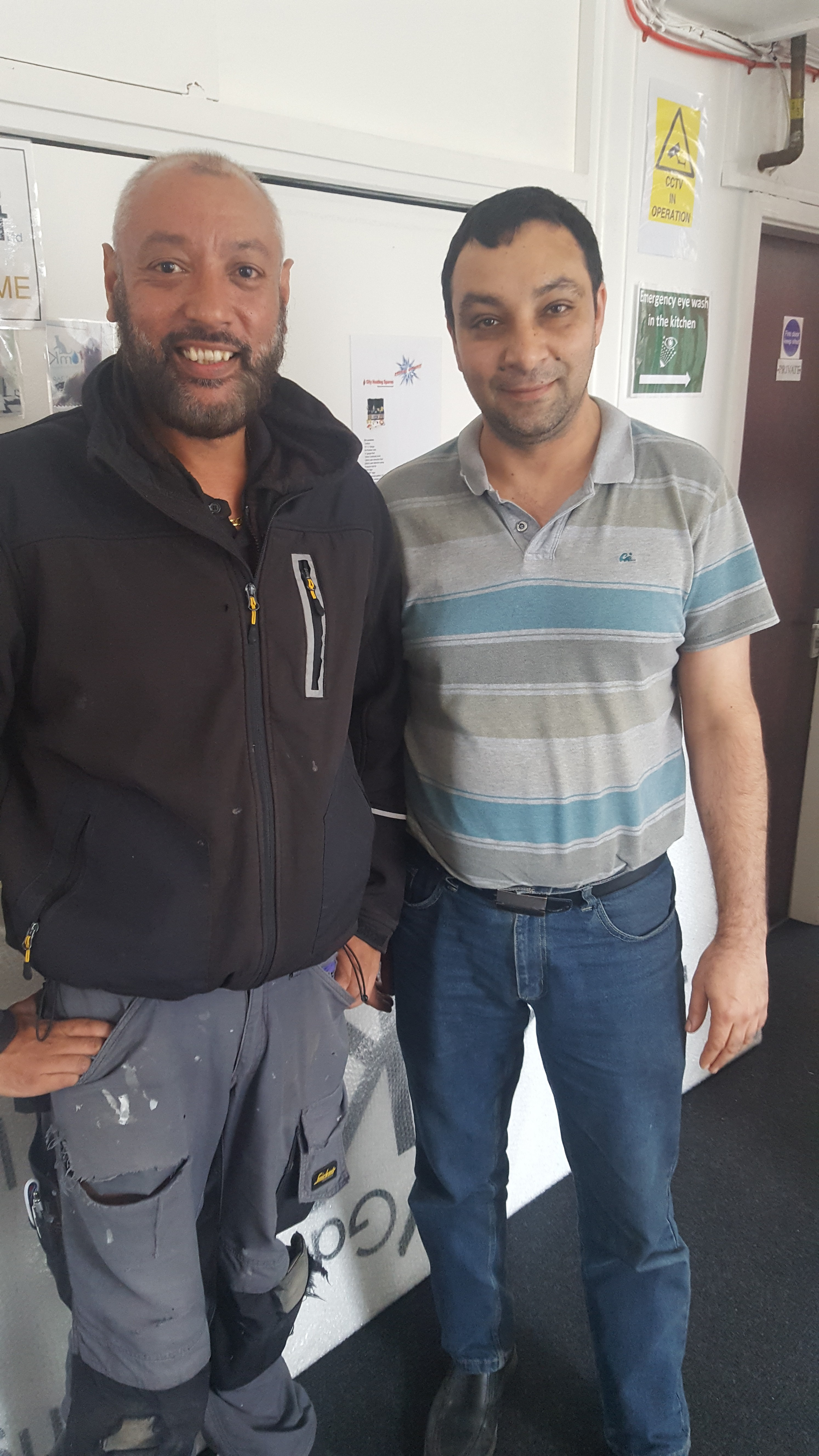 Sanjay and Farid